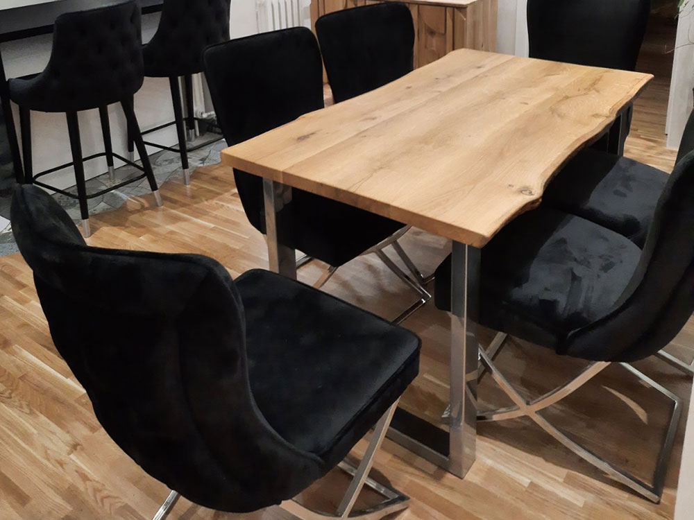 trpezarijski sto, drveni sto, stolovi od punog drveta