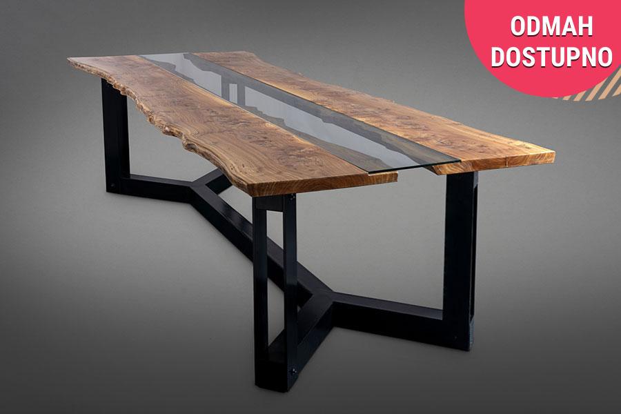 sto Uva, drveni trpezarijski sto, luksuzni trpezarijski stolovi